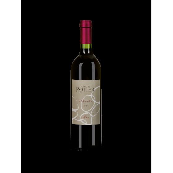 """Domaine  Rotier  """"Les Gravels"""" Rouge 2016 demi bouteille"""
