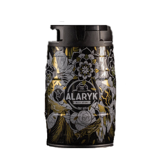 """Bière Alaryk """"Fût Blonde"""" 5 litres"""