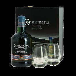 Coffret Whisky Connemara Distiller's Edition + 2 verres