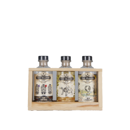 "Gin The Islands ""Coffret dégustation 3x20cl"""