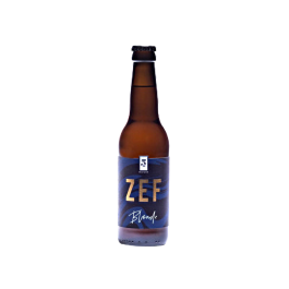 Bière Zef Blonde 33 cl