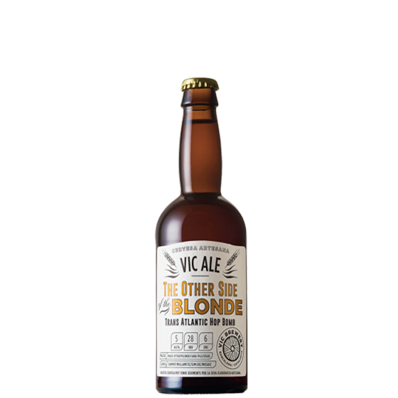 """Bière Vic Ale The other side"""" Blonde 33cl"""