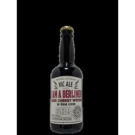"""Bière Vic Ale """"I am a berliner"""" 33cl"""