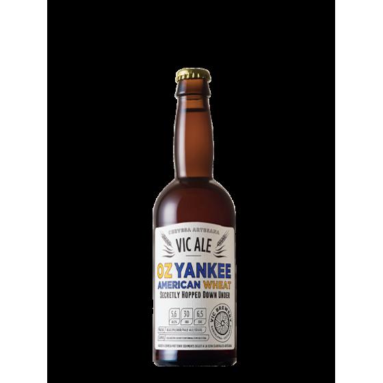 """Bière Vic Ale """"Oz Yankee"""" Blanche 33cl"""