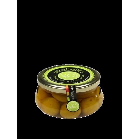 Vergers de Gascogne/ Mirabelles / bocal verre 290ml
