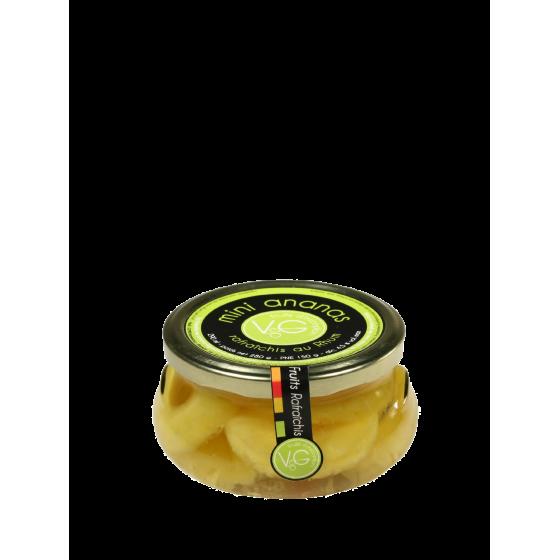 Vergers de Gascogne/ Mini-ananas / bocal verre  290ml