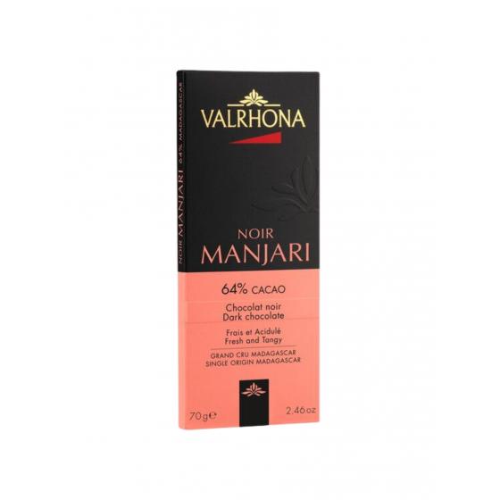 Valrhona / Tablette Manjari Orange 64% / 85 gr / Chocolat