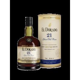 """Rhum """"El Dorado"""" 21 Ans"""