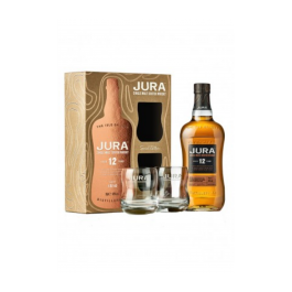 "Whisky Isle of Jura ""Coffret 12 ans + 2 verres"""