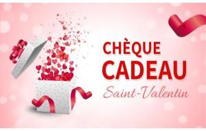 Chèque Cadeau Saint Valentin